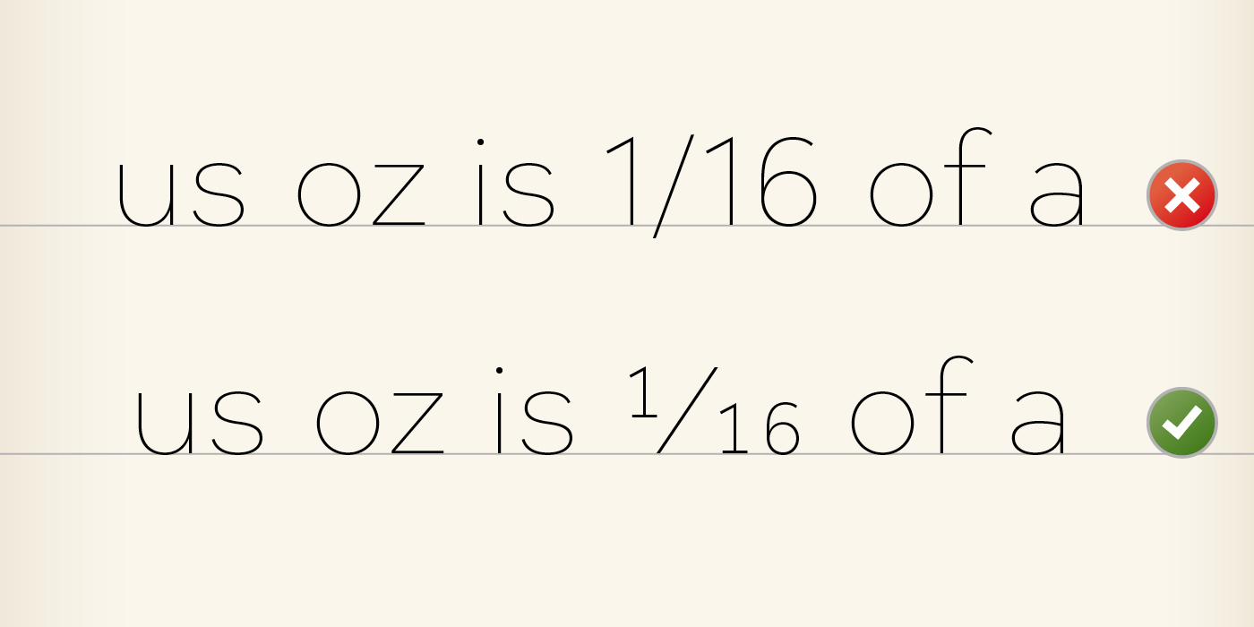 Uncover the potential of your fonts with OpenType features